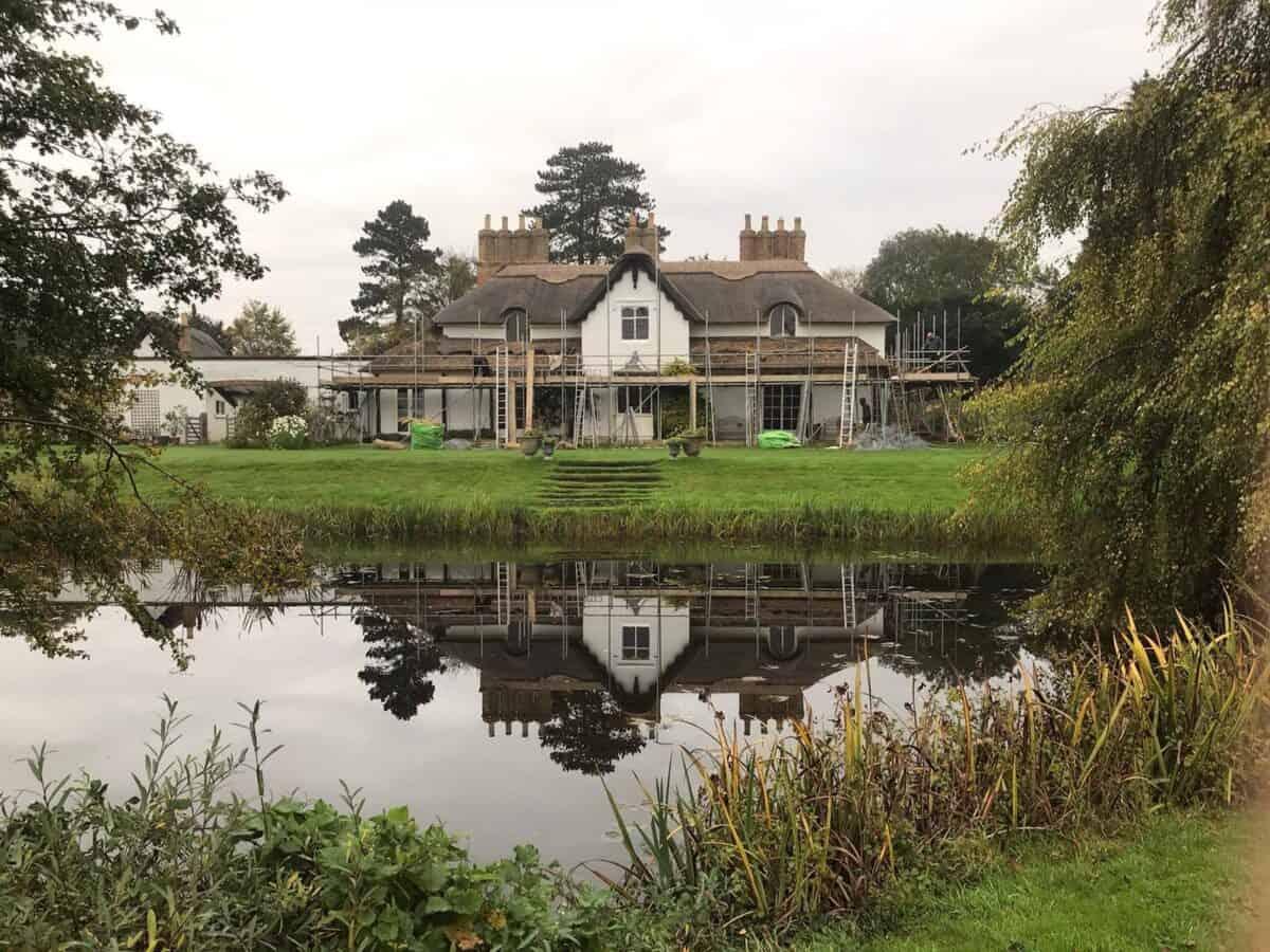 Thatching Stonely Cambridgeshire 2