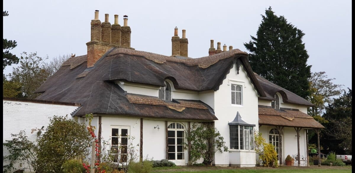 Thatching job in Stonely Cambridgeshire (4)